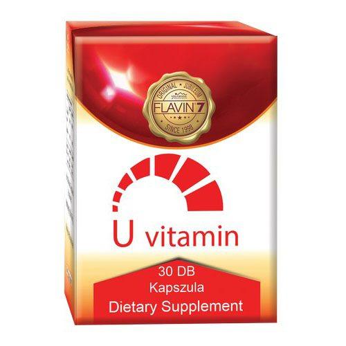 Flavin7 U-vitamin kapszula - 30db