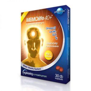 Memolife 40+ kapszula - 30db