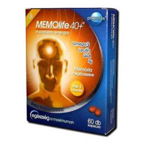 Memolife 40+ kapszula - 60db
