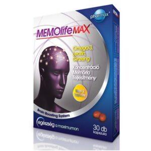 Memolife Max kapszula - 30db