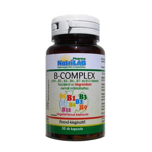 Nutrilab B-komplex kapszula - 30db