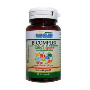 Nutrilab B-komplex kapszula - 60db