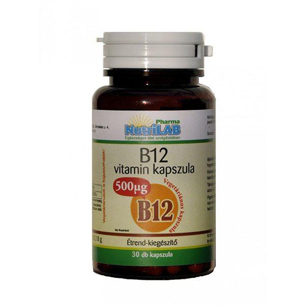 Nutrilab B12-vitamin kapszula - 30db