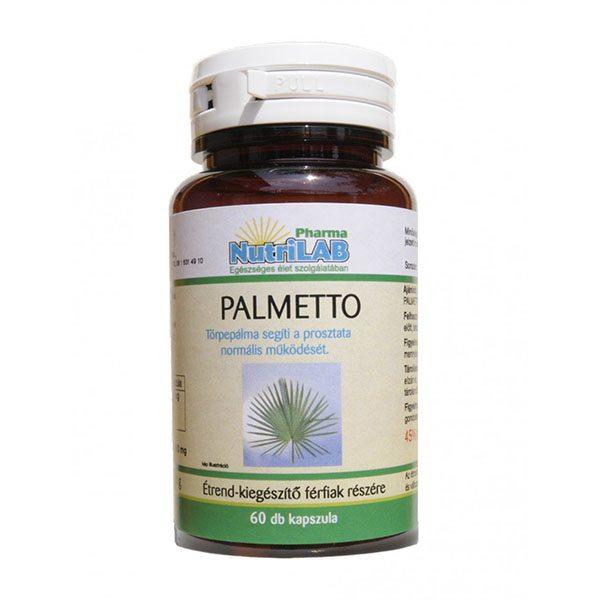 Nutrilab Palmetto törpepálma kapszula - 60 db