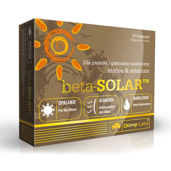 Olimp Labs Beta Solar napozóvitamin - 30db