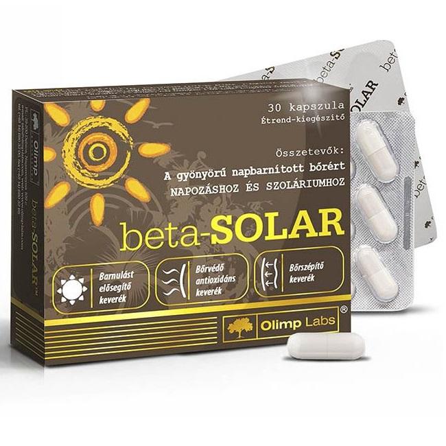 Olimp Labs Beta Solar napozóvitamin - 30db