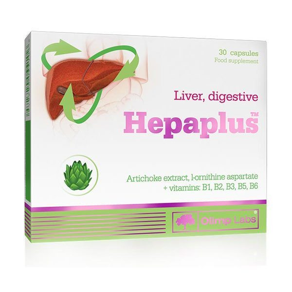 Olimp Labs Hepaplus Articsóka kapszula - 30db
