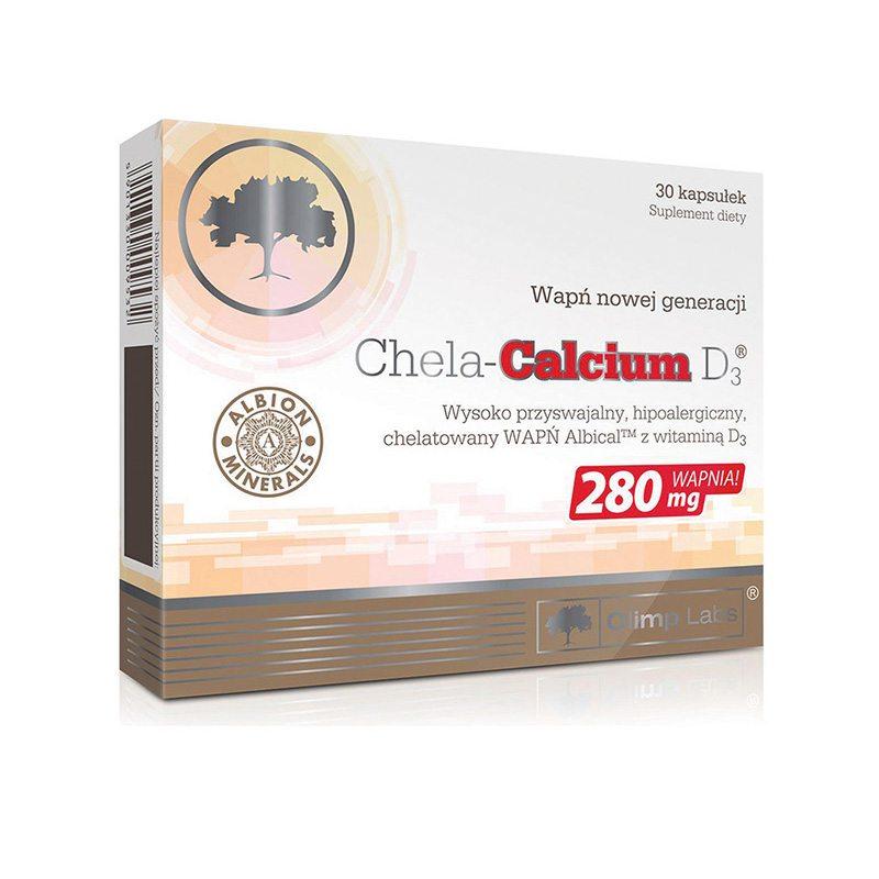 Olimp Labs Szerves Kalcium + D3-vitamin kapszula - 30 db