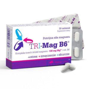 Olimp Labs TRI-Mag + B6 vitamin kapszula - 30db