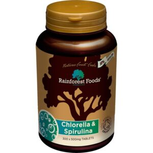 Rainforest Bio Chlorella-Spirulina tabletta - 300db