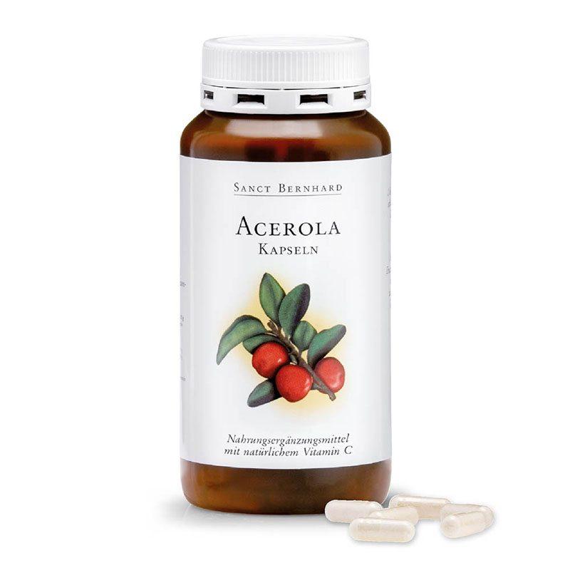 Sanct Bernhard Acerola + C-vitamin kapszula - 300db