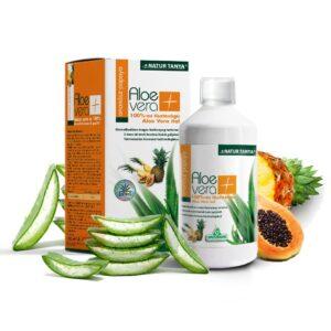 Specchiasol 100%-os Aloe Vera, Papaya, Ananász ital - 1000ml