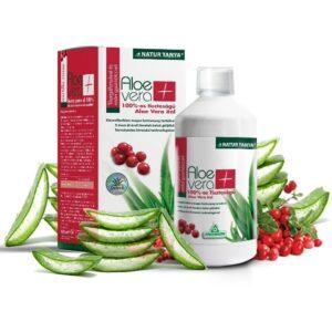 Specchiasol 100%-os Aloe Vera és Vörösáfonya ital - 1000ml