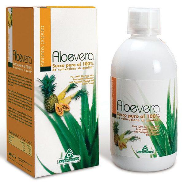 Specchiasol 100%-os Aloe Vera, Papaya, Ananász koncentrátum - 1000ml