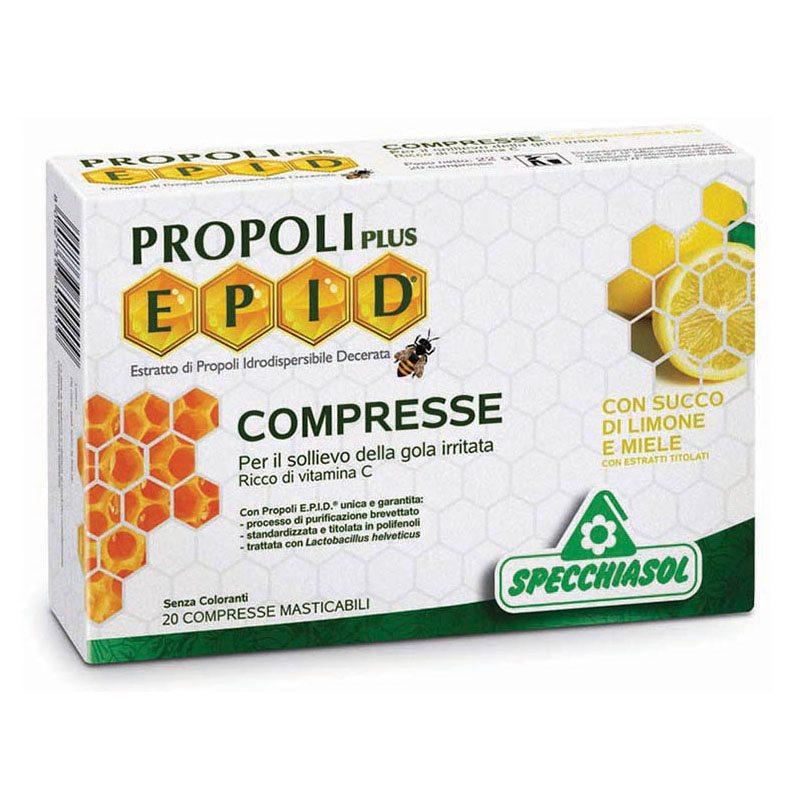 Specchiasol EPID Propolisz szopogatós tabletta mézes-citromos ízben - 20db