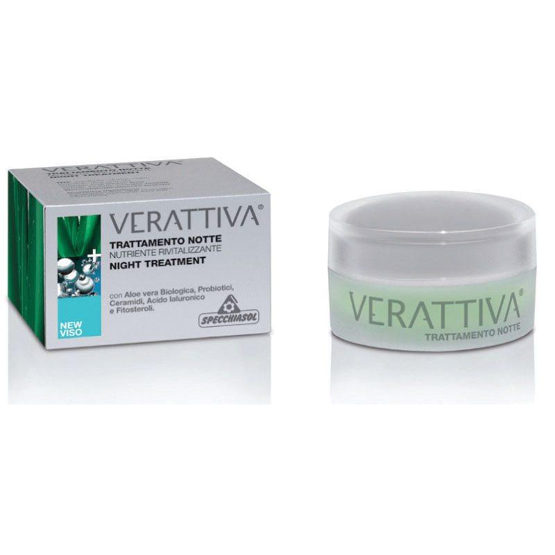 Specchiasol Verattiva tápláló éjszakai kezelés - 50ml