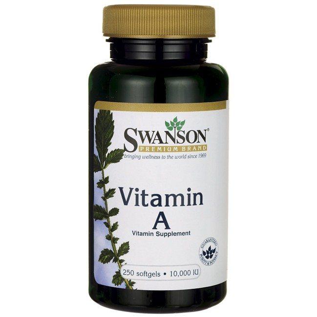 Swanson A-10000 vitamin gélkapszula - 250db