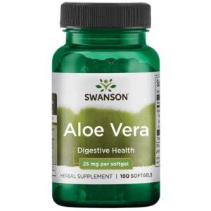 Swanson Aloe Vera lágyzselatin kapszula - 100db