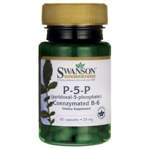 Swanson B6-vitamin P-5-P 25mg kapszula - 60db