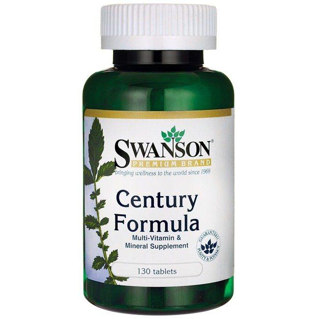 Swanson Century Formula + Vas multivitamin tabletta - 130db