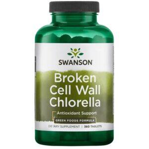 Swanson Chlorella tabletta - 360db