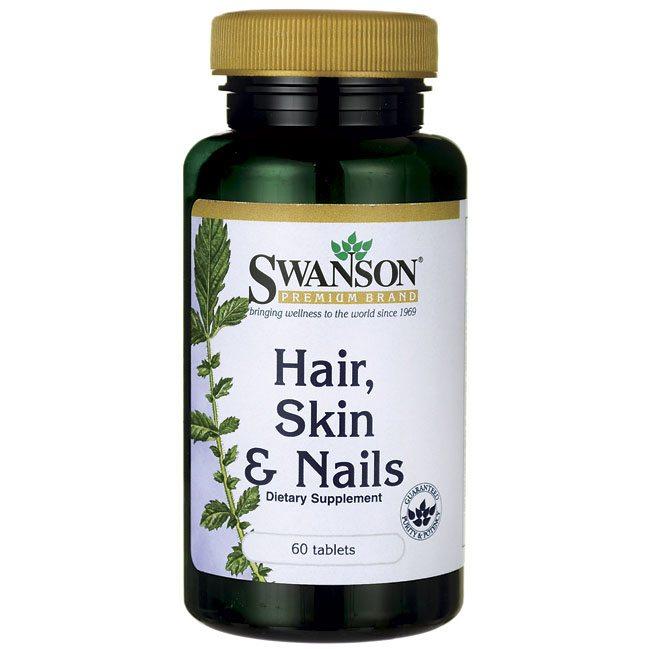 Swanson Complex haj, bőr, köröm multivitamin tabletta - 60db