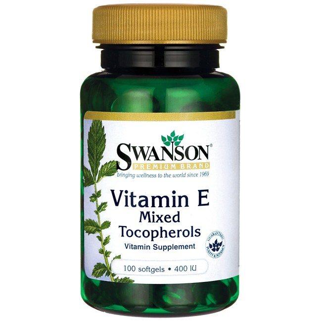 Swanson Ex-400NE E-vitamin lágyzselatin kapszula - 100db