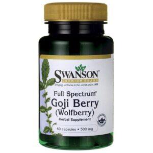 Swanson Goji Berry kapszula - 60db