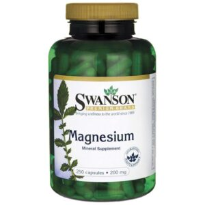 Swanson Magnézium kapszula - 250db