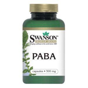 Swanson PABA étrend kiegészítő kapszula - 120db