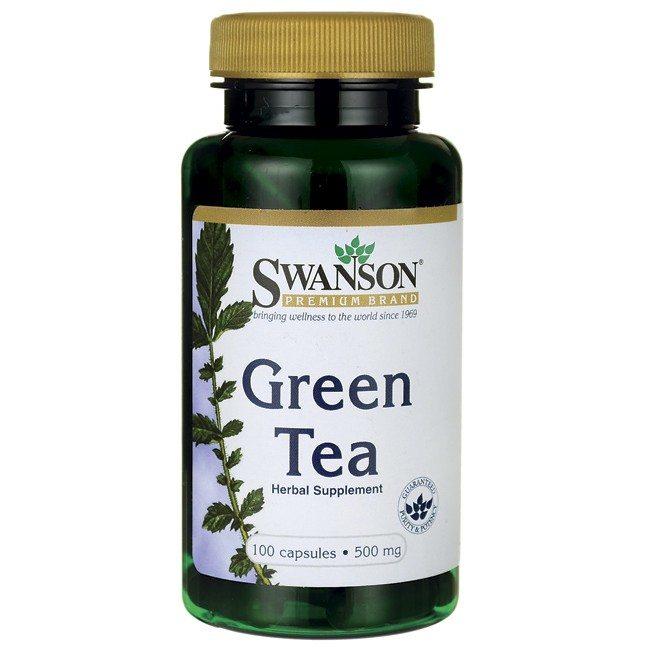 Swanson Zöld tea kivonat kapszula - 100db
