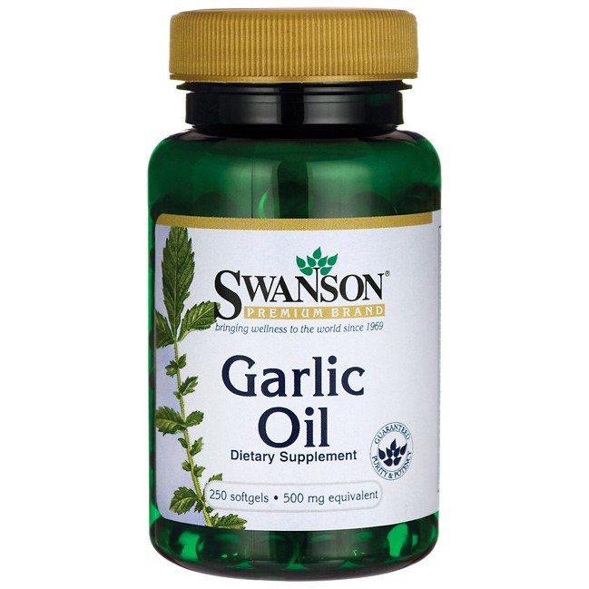 Swanson fokhagyma olaj lágyzselatin kapszula - 250db