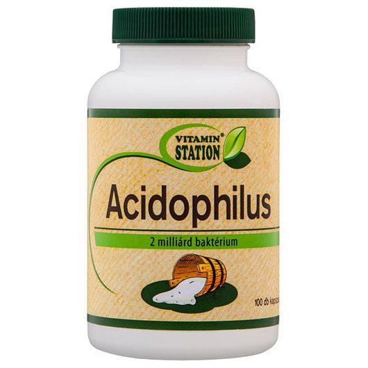 Vitamin Station Acidophilus kapszula - 100db