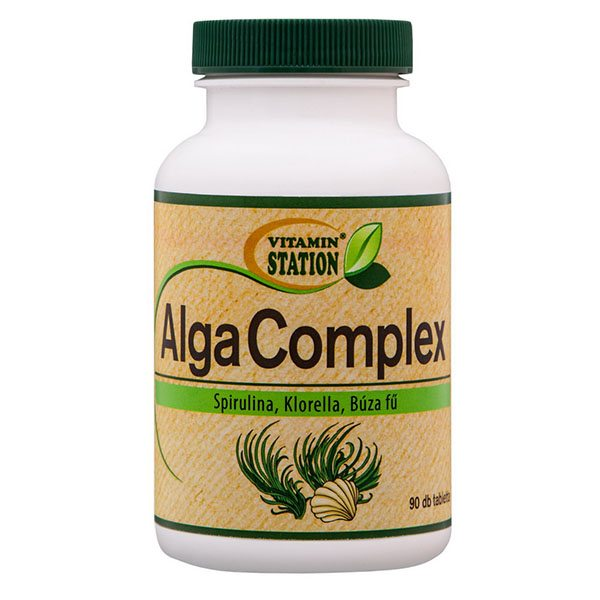 Vitamin Station Alga Complex tabletta - 90db