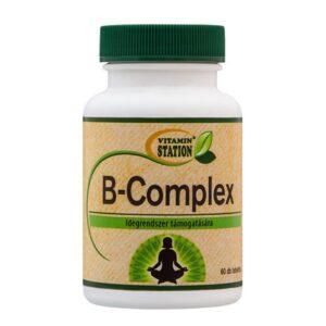Vitamin Station B-Complex tabletta - 60db