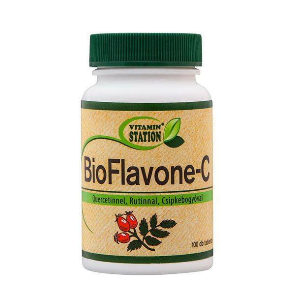 Vitamin Station Bioflavone-C tabletta - 100db