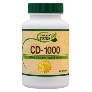 Vitamin Station CD-1000 tabletta - 100db
