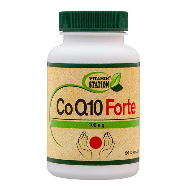 Vitamin Station COQ10 Forte kapszula - 100db