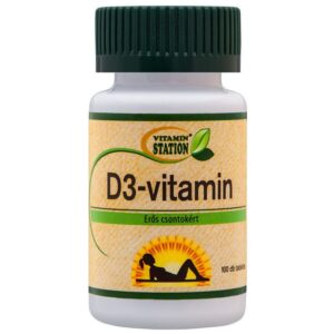 Vitamin Station D3-vitamin tabletta - 90db