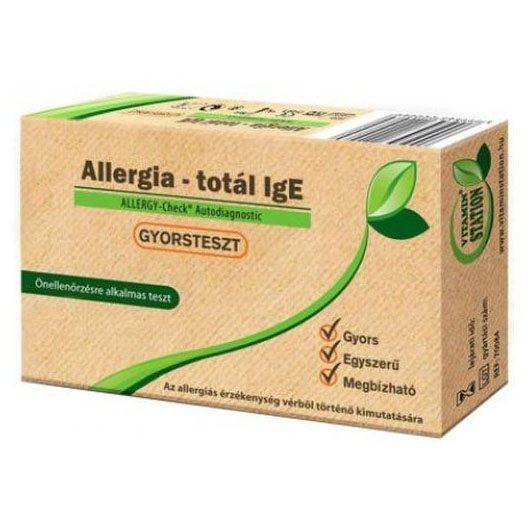 Vitamin Station Gyorsteszt allergia total - 1db