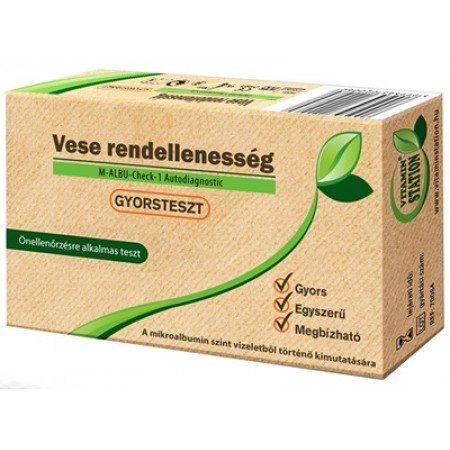 Vitamin Station Gyorsteszt vese rendellenesség - 1db