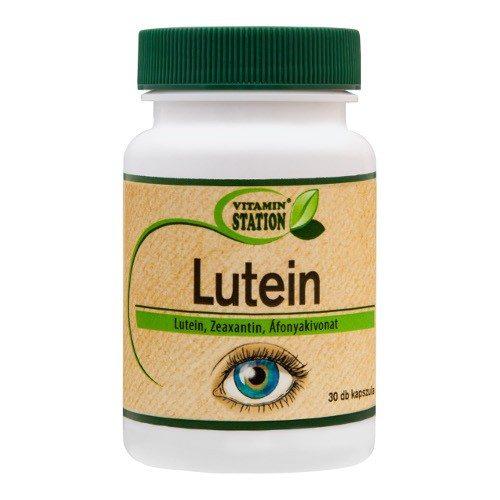 Vitamin Station Lutein kapszula - 30db