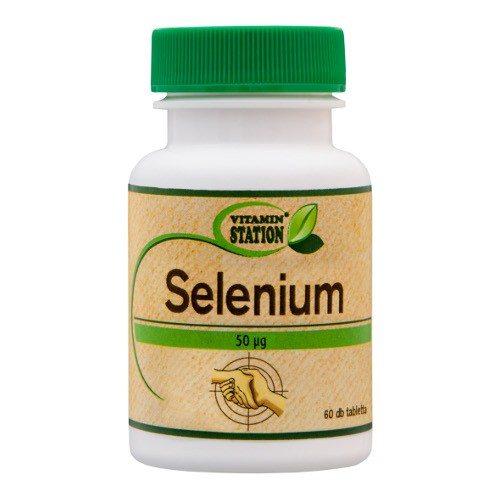 Vitamin Station Selenium kapszula - 60db