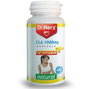 Dr. Herz CLA 1000mg + E-vitamin kapszula - 60db
