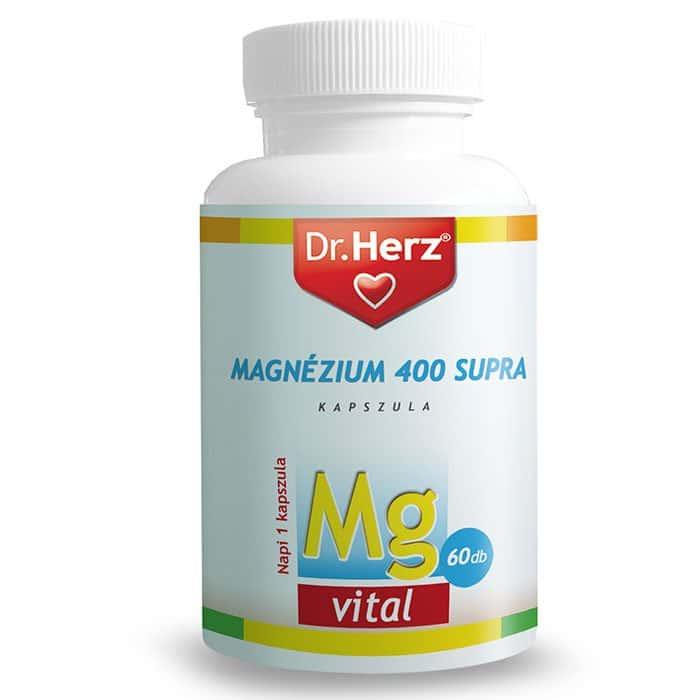 Dr. Herz Magnézium 400 supra kapszula - 60db