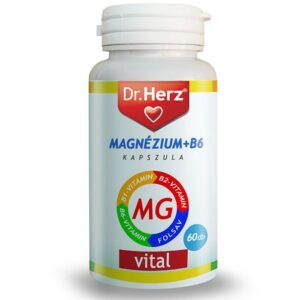Dr. Herz Magnézium + B-komplex kapszula - 60db