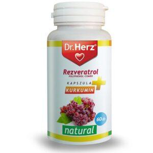 Dr. Herz Resveratrol kapszula - 60db