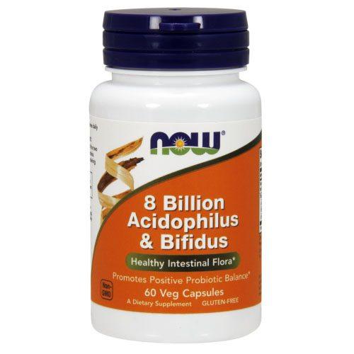 Now Acidophilus és Bifidus kapszula - 60 db