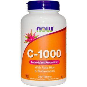 Now C-vitamin 1000mg + csipkebogyó tabletta - 100db
