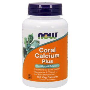 Now Coral Calcium Plus kapszula - 100 db